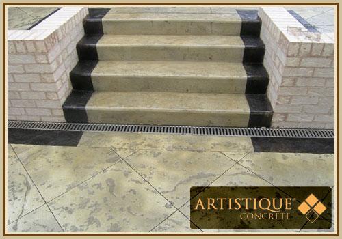 Acid Stained Concrete - Concrete Acid Stain - Artistique
